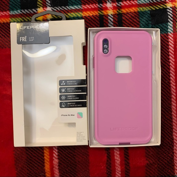 IPhone XS Max Lifeproof Fre Phone Case FROST BITE